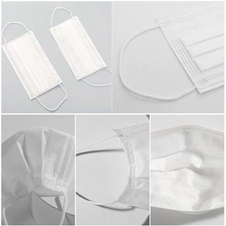 【入荷しました!】3層構造  柔らか立体 不織布マスク  50枚入り