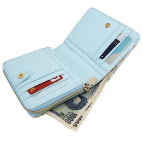 すみっコぐらし 二つ折り財布 / ブルー