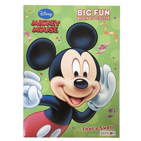 ミッキーマウス   ぬりえ   ☆   ディズニー ミッキー  アクティビティブック