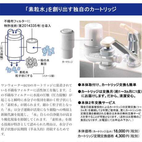 ワンウォーターECO (キッチン用浄水器)