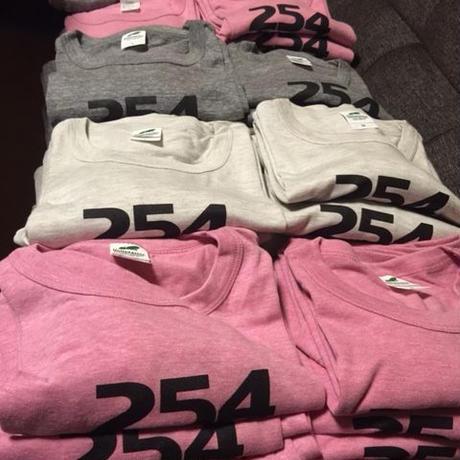 254Soul-Food ロゴ入りTシャツ (3色)