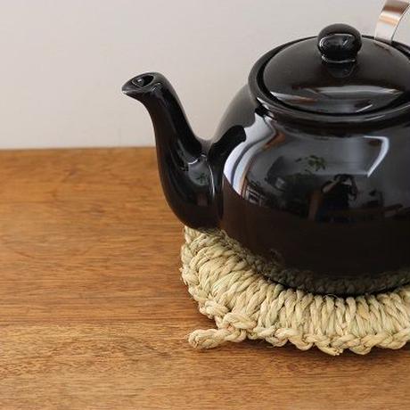 藁の鍋敷き 大