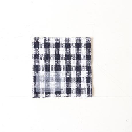 fog linen workのコースター  ブルー系