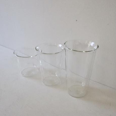 KINTO CAST  ダブルウォールグラス 290㎖ (写真中央)