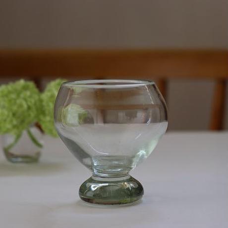 小野田郁子 台付き丸グラス