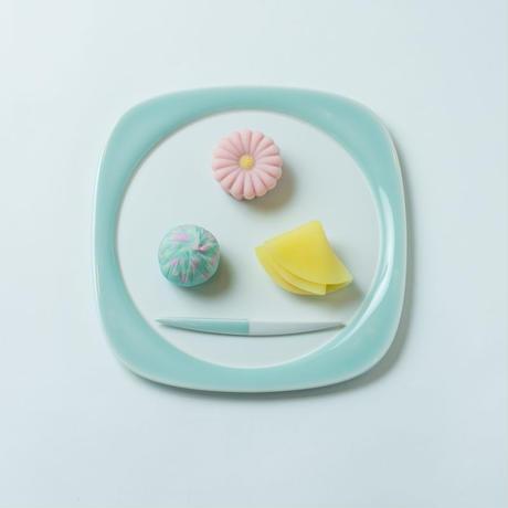 鍋島青磁菓子盆