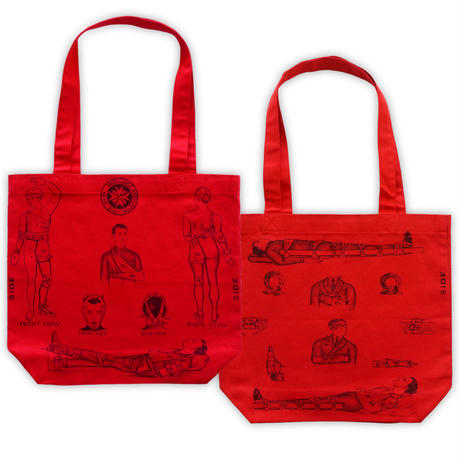 Fist aid tote bag /Rd