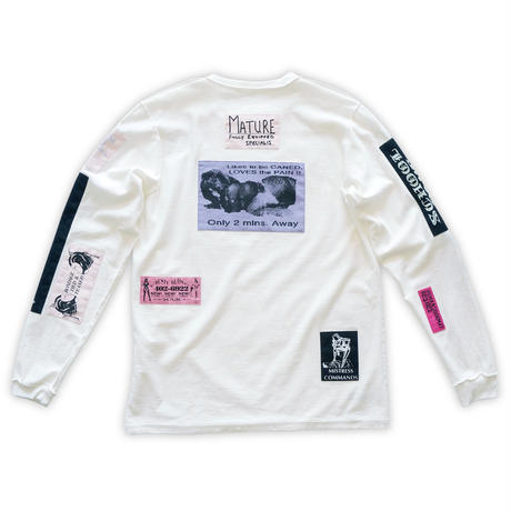 Bizarre pach long-sleeve tee