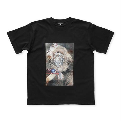 Marx collage Tee / Black