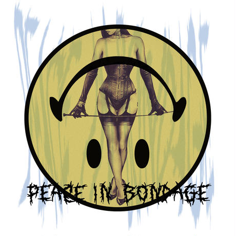 Peace in bondage Big silhouette tee / White