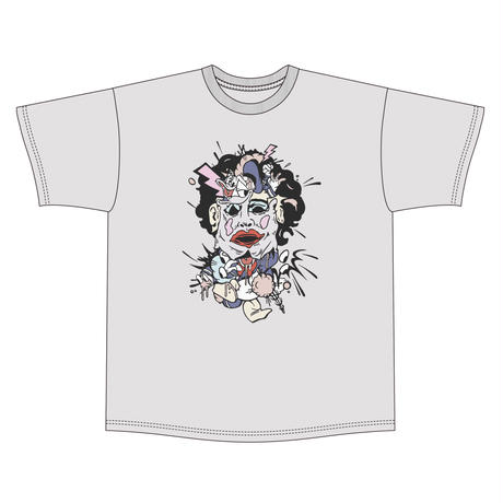 Cartoon chainsaw massacre tee  / L.gry