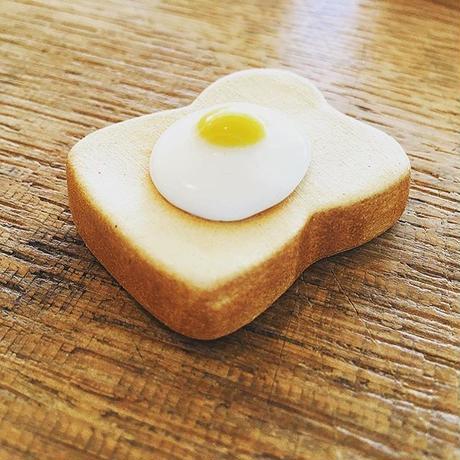 箸置き モーニングトースト 目玉焼き