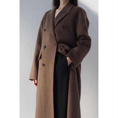 【Premium】Cashmere100 Handmade Coat