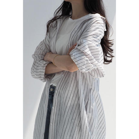 Linen Stripe Shirt