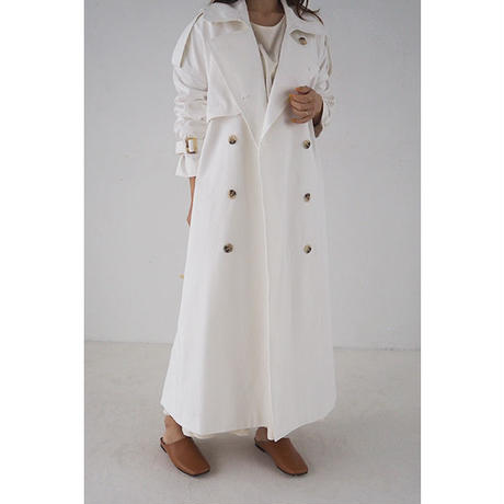 Oversize Trench coat_Ivory
