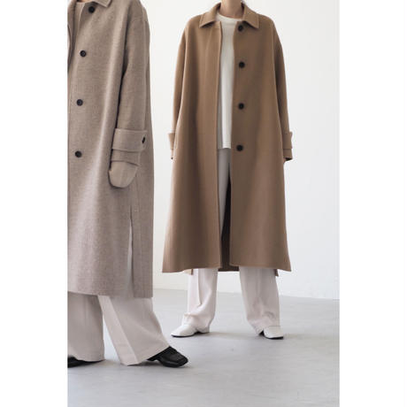 Soutien Collar Coat_oatmeal