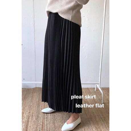 Pleat Skirt