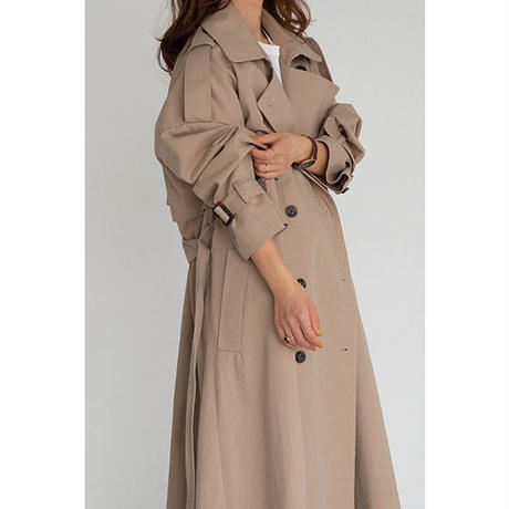 Oversize Trench coat_Beige