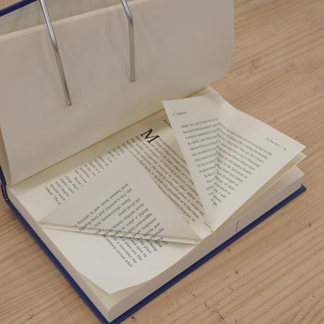 【動画講座】本をアートに!ブックフォールディング講座 「ヒゲ」