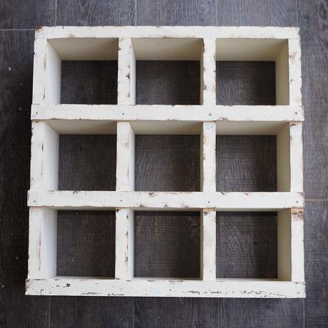 コレクション飾り棚 9 ROOM  白系