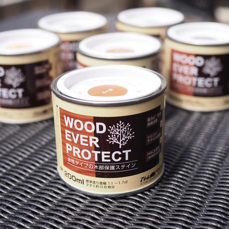 ウッドエバープロテクト 200ml 屋外木部塗料