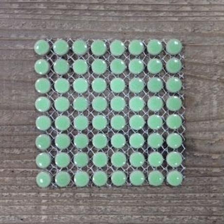 【タイル】プチマルM5-D ベビーグリーン