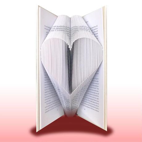 【動画講座】本をアートに!ブックフォールディング講座「Heart」
