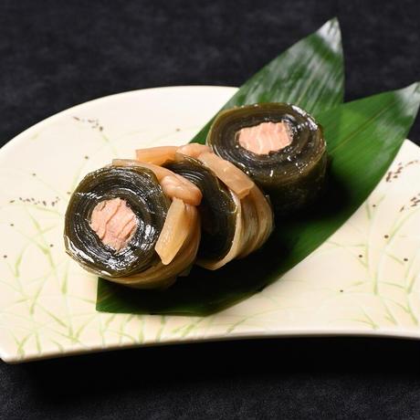 銀鮭味噌漬セット① 【2101】(銀鮭味噌漬4切 鮭の昆布巻1本)