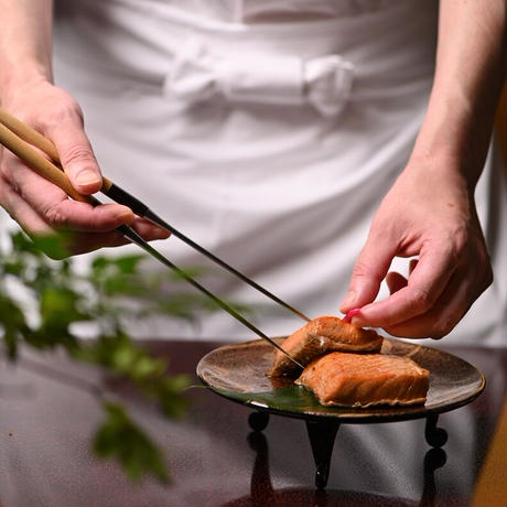 味の詰合せ 313 (鮭の昆布巻、鮭の焼漬け、いくら醤油漬、紅鮭ほぐし)