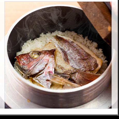 炊飯器で作れる本格鯛めしの素『和食バルさしすせそ』