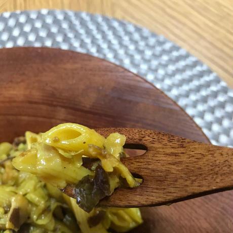 おひさま椎茸と国産にんにく香るカレーペンネ(2人前)
