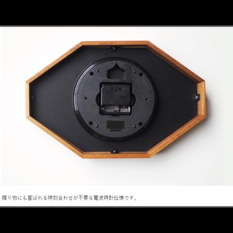 インターフォルム ベルモンテ ウォールクロック ホワイト/ブラック