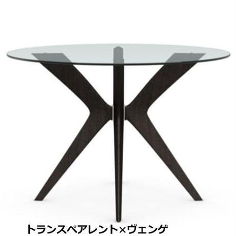 カリガリス ダイニングテーブル TOKYO トーキョー ガラス天板 直径120cm CS18-FD120 calligaris