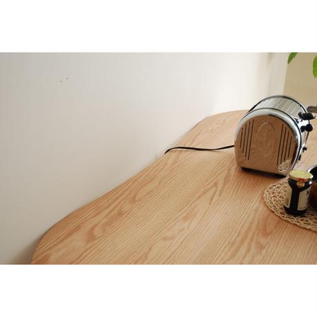 モリタインテリア ミラージュ 180ダイニングテーブル ロイヤルホワイト