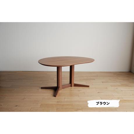 モリタインテリア ミラージュ 180ダイニングテーブル ナチュラル/ブラウン