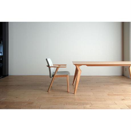 モリタインテリア ヴォルド 160ダイニングテーブル  ブラウン/ナチュラル
