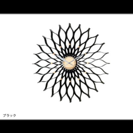 インターフォルム フィオリトゥーラ ウォールクロック ホワイト/ブラック
