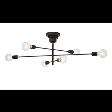 インターフォルム アストル シーリングライト(LED電球付属)
