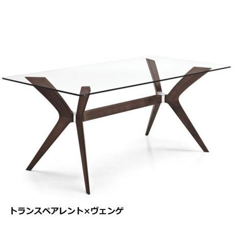 カリガリス ダイニングテーブル TOKYO トーキョー ガラス天板 幅160cm CS18-FR160 calligaris