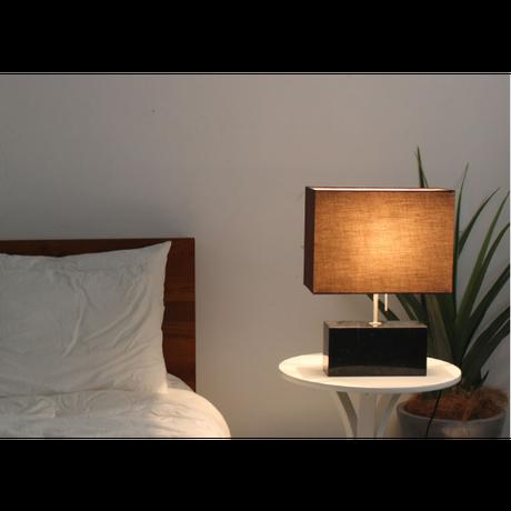 ディクラッセ LEDマレッゾ テーブルランプ ホワイト/ブラック