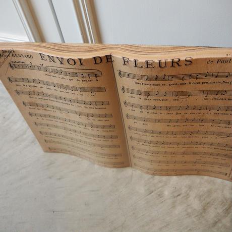 ウォールデコレーション 楽譜