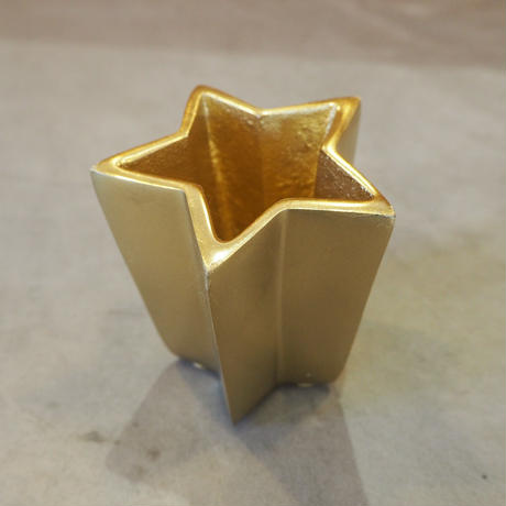 Metallic Star Pen Holder GD
