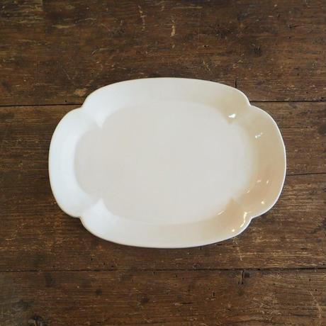 studio'M リアン 焼物皿 白