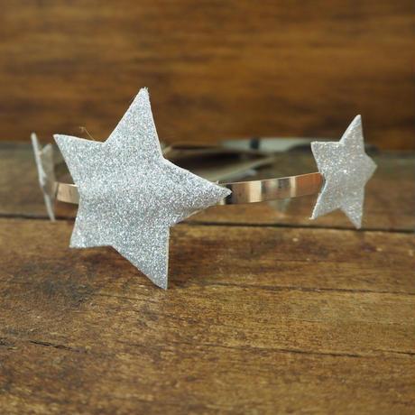 numero74 star headband  (Silver)