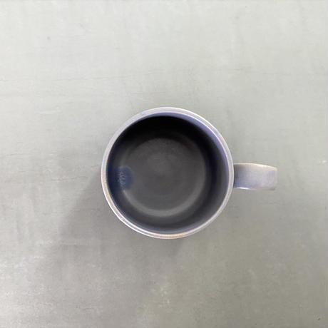 ココン マグカップ(手作りハンドル) スミレ