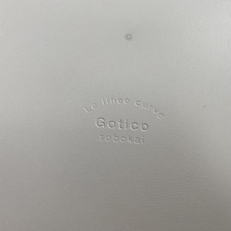 ゴティコ 25cmプレート グリージョ