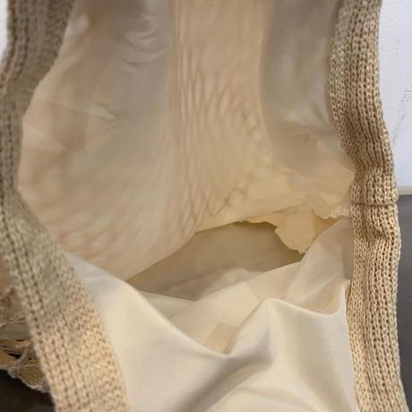ミニメッシュバッグ ホワイト
