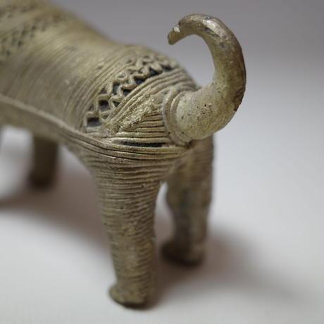 民芸品 真鍮製 犬のオブジェ