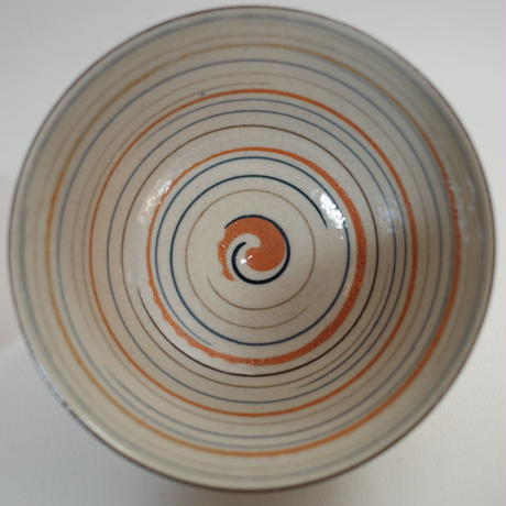 瀬戸 麦藁手輪線蓋茶碗 ④
