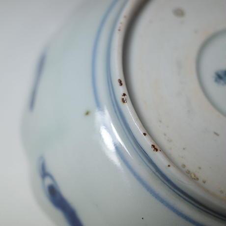 染付 秋海棠図なます皿 ④